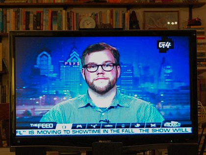 Scott on our (and the world\'s) TV